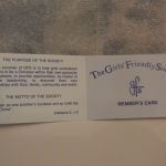 GFS Membership Card